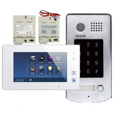 Video Kit With Integrated Access Control Keypad.