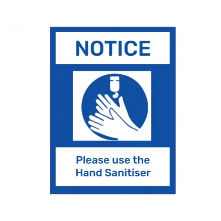 Covid-19 Signage - Please use hand sanitiser