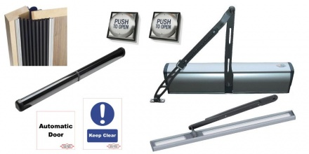 Automatic Door Opener kit EN16005-KIT 900-2 DWPS102U 2