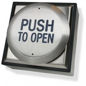 Automatic Door Push Pad Push To Open (PTO)