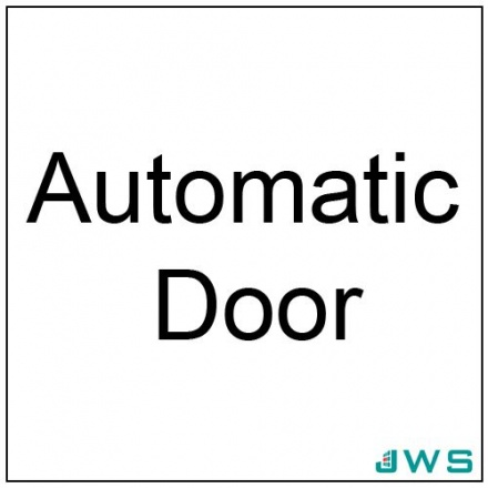 Automatic Door Sign - Automatic Door