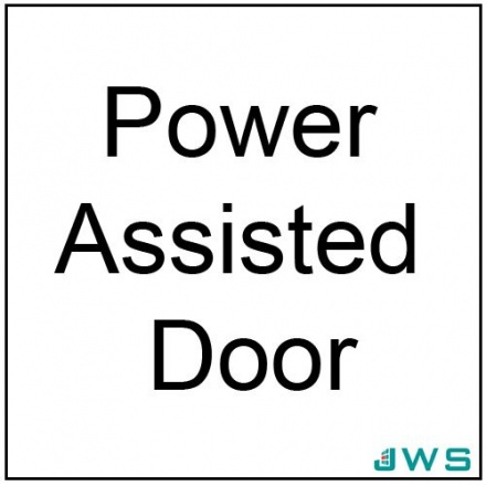 Automatic Door Sign - Power Assisted Door