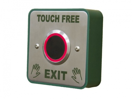 Exit Button Hands Free Touchless Infra Red Switch