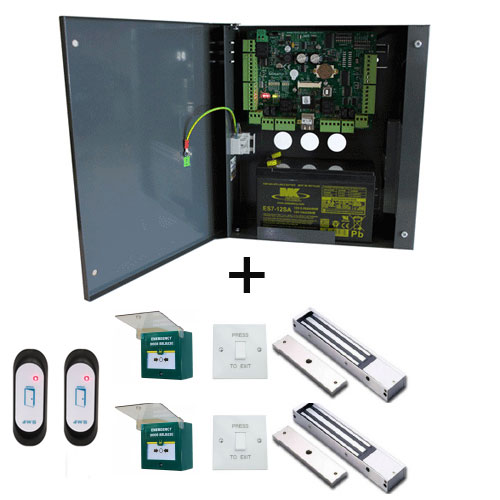 Navigator IP  ''Kit 2'' Complete 2 Door Solution with software