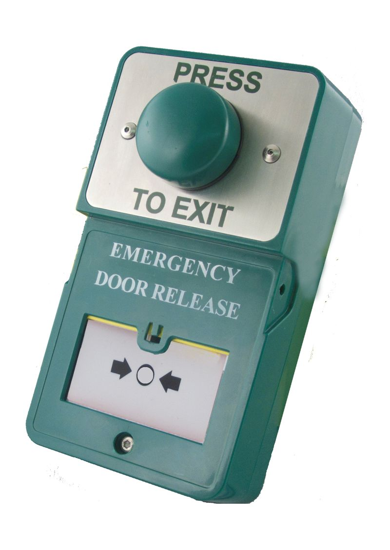 Break Glass Exit Button Call Point Emergency Door Release