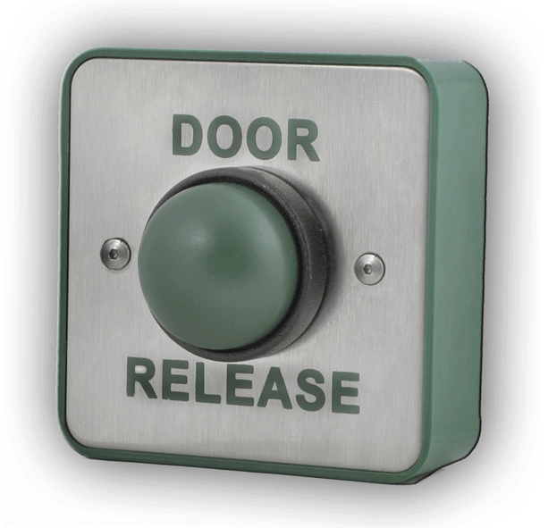 Exit Button Door Release Green Dome Switch & Exit Button Door Release Green Dome Switch Access Control ...