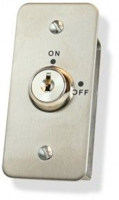 Keyswitch Momentary for Access Control Entry Systems Slim