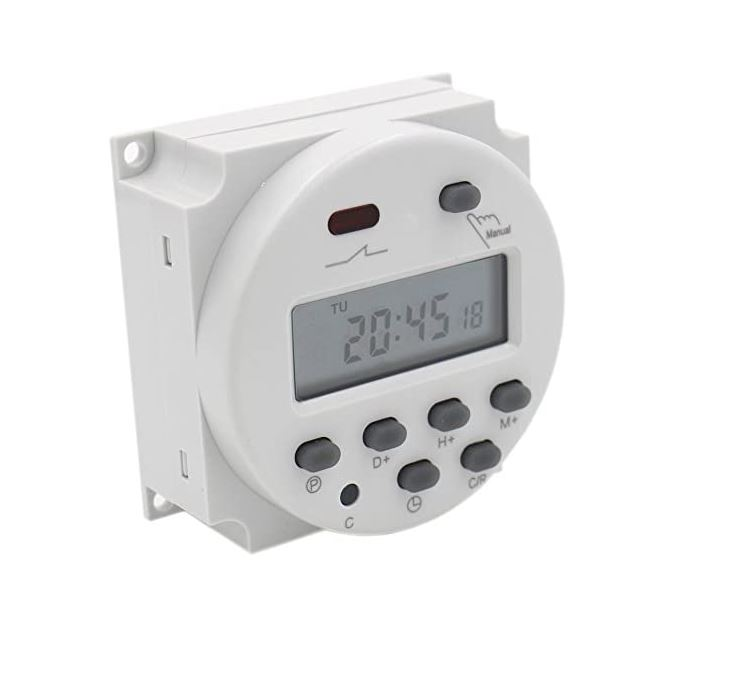 Digital 7-day timer 24v AC / DC