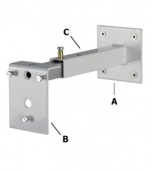 Adjustable Wall Extension/Floor Bracket For VIR5