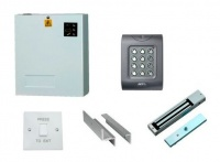 Access Control Kit K1: Keypad, Magnetic Lock, Exit Switch & Power Supply
