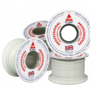 CQR 6 Core White CCA Cable 100 metres