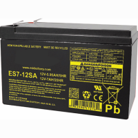 SEALED LEAD-ACID BATTERY 12V 7AH 100 X 65 X 151MM