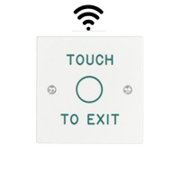 Wireless Exit Button Touch Sensor 'Touch To Exit'