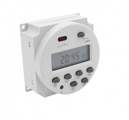 Digital 7-day timer 12v AC / DC