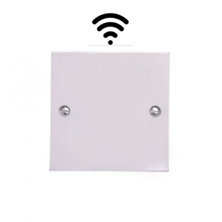 Wireless Exit Button Touch Sensor 'Plain white'