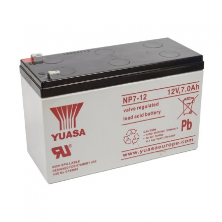 Backup Battery for Mains Failure 12V 7AH